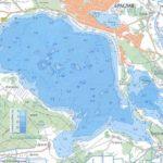 Карты глубин озер, рек